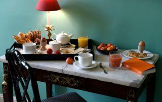 Luberon - Isle sur la sorgue - hôtel - luxe - Vaucluse - buffet- - petit déjeuner