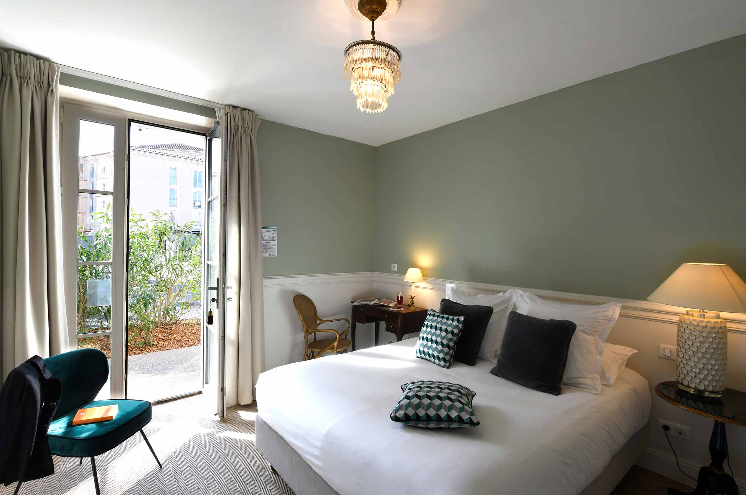 Luberon - Isle sur la sorgue - hôtel - luxe - Vaucluse - chambre- junior suite
